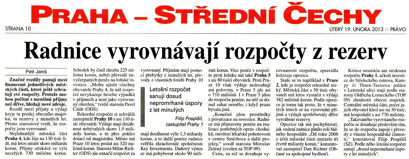 článek Právo 2/2013