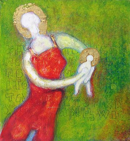 Matka Boží je šťastná, že má chlapečka a ne holčičku, protože chlapec bude jen jednou ukřižován