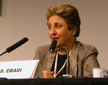 POZOR, AKCE BYLA ZRUŠENA - Pozvánka na debatu s íránskou nositelkou Nobelovy ceny míru Shirin Ebadi - Proposing Women's Rights in Muslim Countries