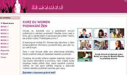Vzdělávací projekt EU WOMEN pomáhá ženám v podnikání
