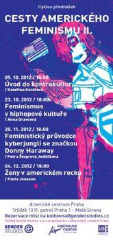 Rockerky a kyborgové. Gender Studies zve na přednášky o současných podobách feminismu