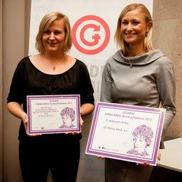 Druhé místo a Speciální cena: GE Money Bank bodovala díky komplexnímu programu diverzity