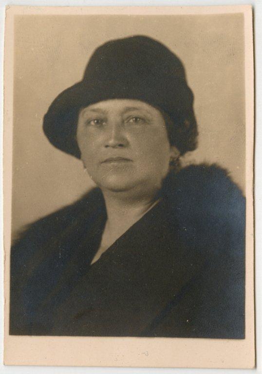 Marie Dvořáková Radić (Praha, 27. 08. 1874 - Záhřeb, 17. 06. 1954)