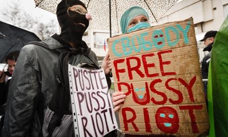Gender Studies žádá okamžité propuštění Pussy Riot