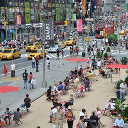 Jak se změnil Times Square v pěší zonu