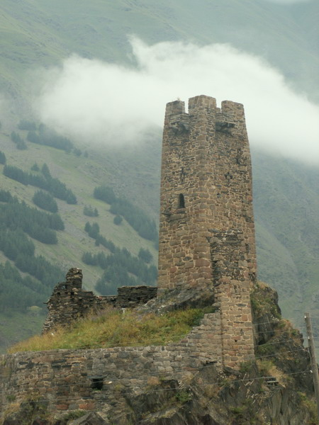 Strážní věž ve vsi Sno, Gruzie