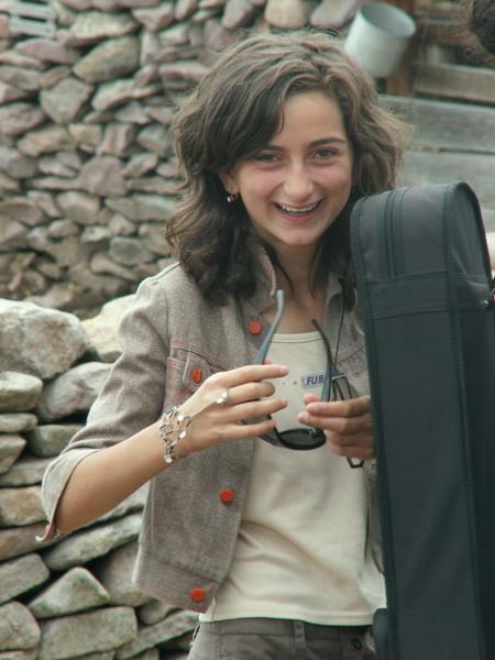 Gruzínská dívka
