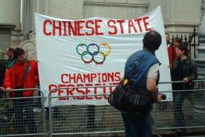 -Demonstrace v Dublinu-