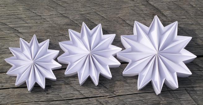 hvězda bílá