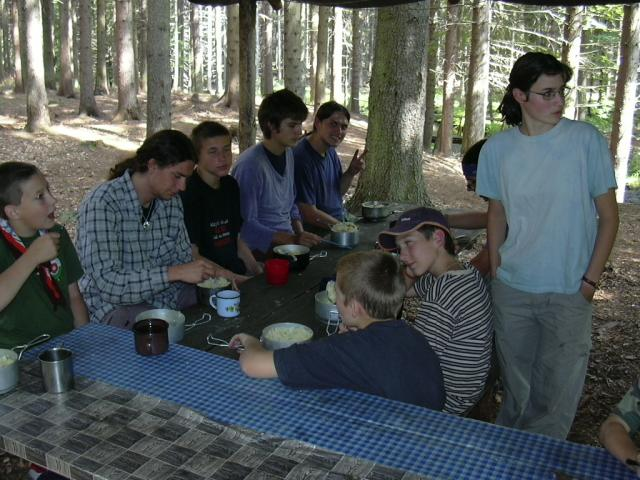 Tábor ve Váhavém údolí (u Bělé nad Radbuzou)