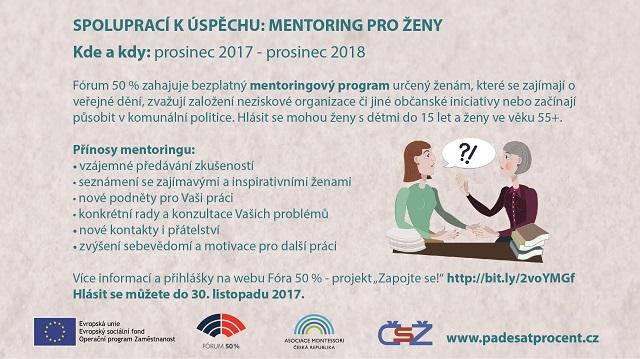 Pozvánka do mentoringového programu