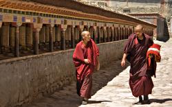 -Foto Luca Galuzzi: klášter Sakya-