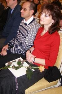 Martina Klausova /s čestným uznáním/ a Ivan Dlask, redaktoři Radia Classic FM