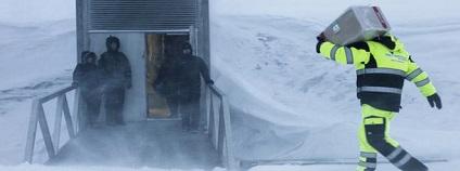 foto:  Svalbard Globale frøhvelv