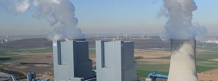 hnědouhelná elektrárna Neurath Foto: RWE
