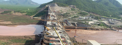 Grand Ethiopian Renaissance Dam - přehrada v Etiopii Foto: Facebook Grand Ethiopian Renaissance Dam