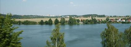 Nádrž České údolí u Plzně Foto: Ondřej Koníček Wikimedia Commons