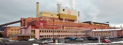 Elektrárna Tisová Foto: Lubor Ferenc Flickr.com