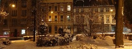 Annenské náměstí v Jablonci nad Nisou Foto: MartinVeselka Wikimedia Commons