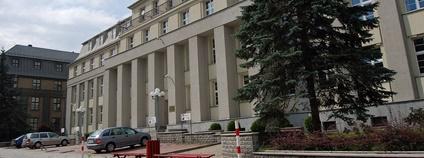 Sídlo polské společnosti PGG Foto: Kris D Wikimedia Commons