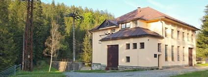 Přečerpávací elektrárna pod Černým jezerem Foto: Mgr. Zdeněk Kubeš Wikimedia Commons