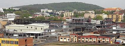 Spolchemie v Ústí Foto: RomanM82 Wikimedia Commons