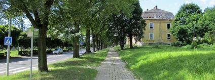 Ulice Československé armády v Mostě Foto: Wikimedia Commons