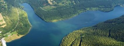 Vodní dílo Morávka Foto: Serych Wikimedia Commons