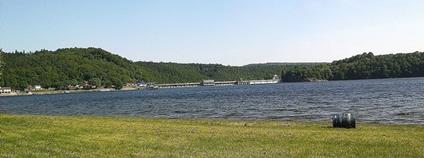 Vranovská přehrada Foto: K123456 Wikimedia Commons