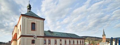 V budově bývalého kláštera ve Vrchlabí vznikne hlavní Návštěvnické centrum KRNAP Foto: VitVit Wikimedia Commons