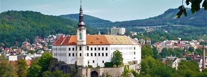 Děčínský zámek Foto: František Šťastný Wikimedia Commons