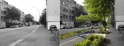 Návrh přeměny Königstrasse v Hamburku