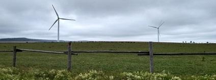 Větrné elektrárny mohou sice přispět k nízkoemisnímu mixu, ale jen omezeně.