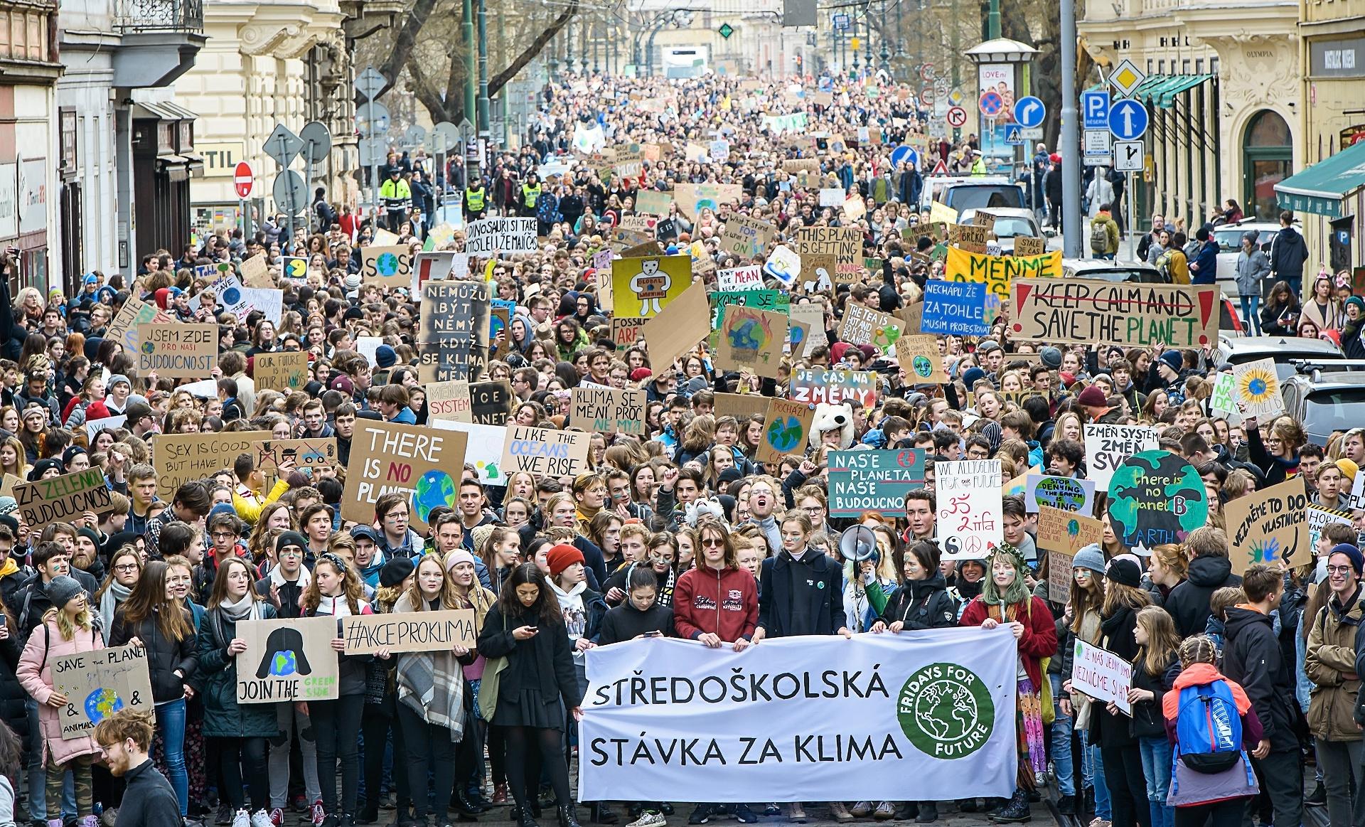 Debata Ke Studentské Klimatické Stávce