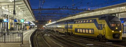 Vlakové nádraží v Eidhovenu Foto: Albert Koch Flickr