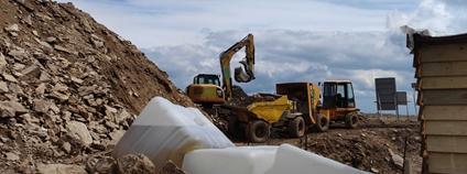 Stavba rozhledny na Králickém Sněžníku Foto: Společnost přátel Jeseníků