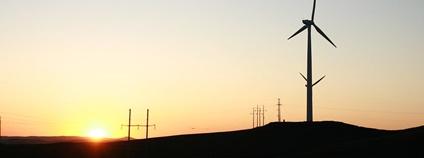 Větrné elektrárny Foto: Han Sun / IFC Infrastructure Flickr.com