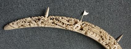 Výrobek ze slonoviny Foto: Celní správa
