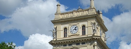 Vodárenská věž, Praha Vinohrady Foto: Elis J Wikimedia Commons