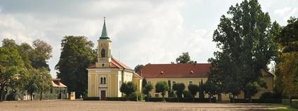 Areál hřebčína v Kladrubech nad Labem Foto: Makak 60 Wikimedia Commons