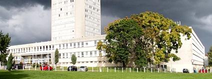 Střední odborná škola Jarov v Praze Foto: Kotivalo Wikimedia Commons