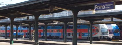 Masarykovo nádraží v Praze v březnu 2011. Foto: Martin Singr/Ekolist.cz