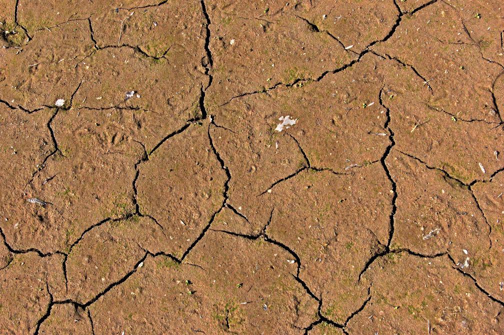 Vyprahlá zem.