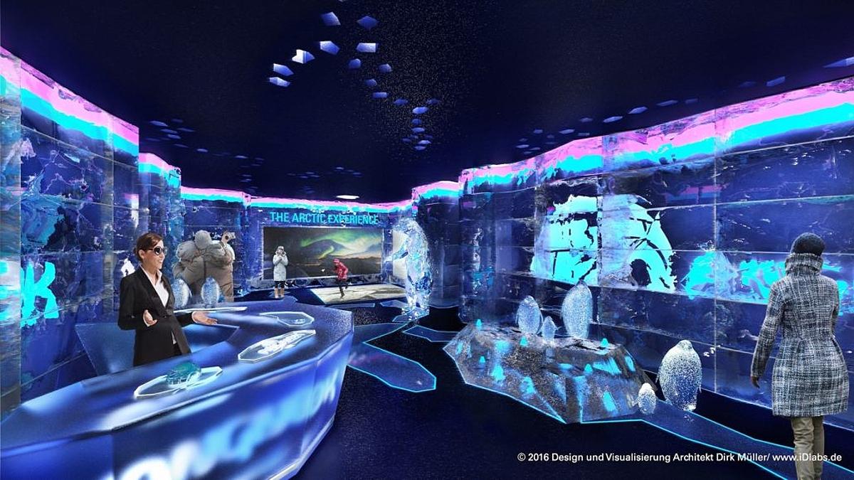 v berl n roste nov atrakce arktick ledov sv t. Black Bedroom Furniture Sets. Home Design Ideas