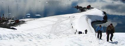 Výlet na Antarctic Peninsula