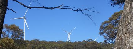 Větrné elektrárny v Jižní Austrálii Foto: Royston Rascals / Flickr.com