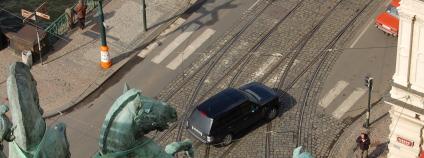 Pohled na nábřeží z budovy Národního divadla Foto: Martin Mach Ondřej Ekolist.cz