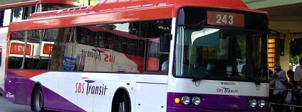 Autobus na stlačený zemní plyn (CNG). Ilustrační foto: Calvin Teo/Wikimedia Commons