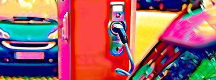 Dobíjení elektromobilu Foto: jc_cards pixabay