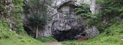 Býčí skála Foto: Lukáš Malý Wikimedia Commons